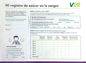 Patient Blood Sugar Log-Spanish