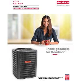 GSZ14 Energy-Efficient Heat Pump